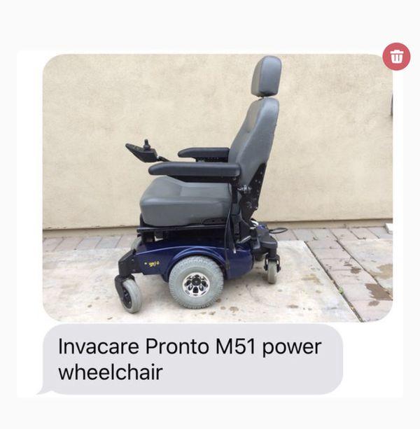 Invacare power wheelchair (motorized) for Sale in Gilbert, AZ - OfferUp