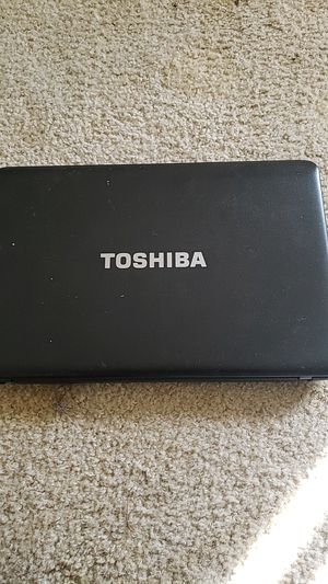 Toshiba laptop no charger for Sale in Desert Hot Springs, CA
