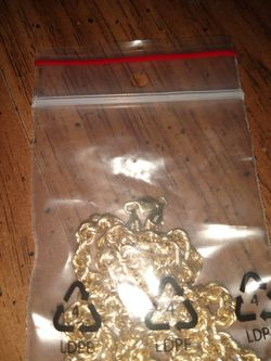 10 k 7mm rope chain 24 inches for Sale in Pensacola,  FL