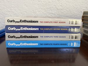 Curb your Enthusiasm DVD Season 1-4 for Sale in Fresno, CA