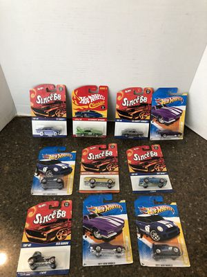 Lot of 10 Brand New Hot Wheels Various Years for Sale in Manassas, VA