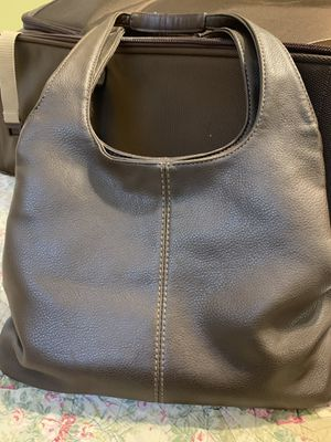 Nine West Dark Brown Soft Leather Hobo Style Handbag in Excellent Condition for Sale in St. Louis, MO