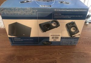 Klipsch ProMedia Ultra 5.1 for Sale in Indianapolis, IN