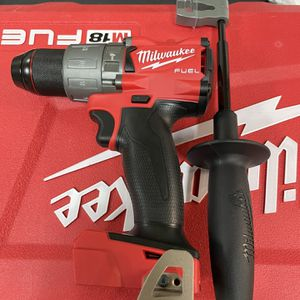 Milwaukee M18 FUEL 18-Volt Lithium-Ion Brushless Cordless 1/2 in. Hammer Drill/Driver (Tool-Only) for Sale in Houston, TX