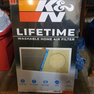 K&N Lifetime washable home air filter for Sale in Salt Lake City, UT