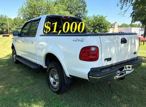 🎁$1,OOO URGENT For sale 2002 Ford F150 XLT 4X4, V8 runs and drives excellent. 87K Miles. for Sale in Arlington, VA