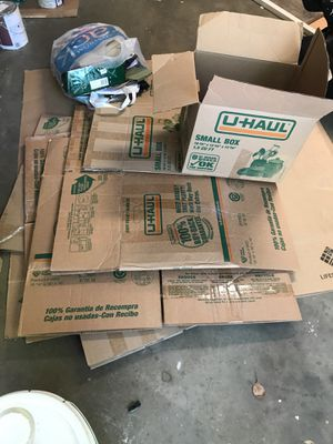 Free moving boxes for Sale in Carmichael, CA