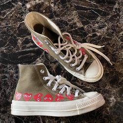 CDG (OLIVE) SIZE 3MENS/5WOMENS for Sale in Marysville,  WA