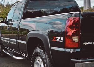 2003 TOUGH Black SILVERADO *2003 Chevy 1500 LTZ* Crew Cab 4X4 *SUNROOF* for Sale in Baltimore, MD