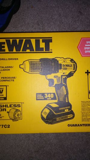 DeWalt 20volt compact drill for Sale in Greensboro, NC