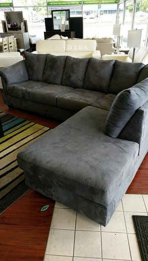 🍻$39 Down Payment 💥 SPECIAL] Darcy Black LAF Sectional for Sale in Columbia, MD