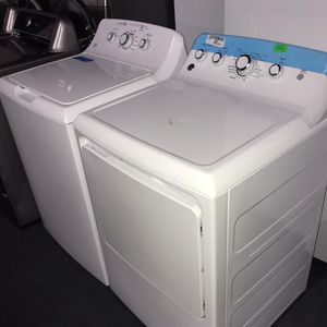 Brand New GE Washer And Dryer Set -6 Months Warranty for Sale in Baltimore, MD