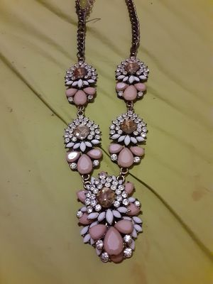 Antique glass and enamel necklace for Sale in Anderson, SC