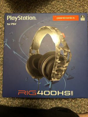 RIG 400HS PS4 Headset for Sale in Chicago, IL