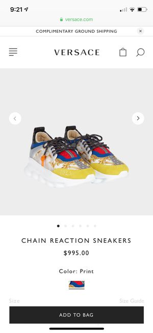 versace chain reaction straight from the versace website for Sale in Brandywine, MD
