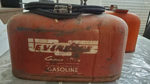 5 gallon evinrude outboard motor fuel tank for Sale in Caldwell, ID