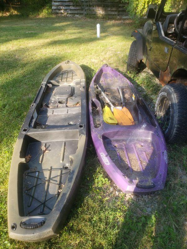 2 Ascend Kayaks