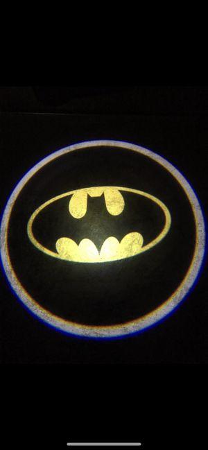 Batman car door projector lights shadow lights auto on/off aaa batteries for Sale in Paramount, CA
