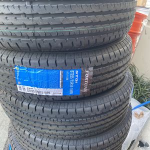 4x ST Trailer Tires 235x80-16 $300 4 Tires Only for Sale in San Bernardino, CA