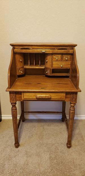 Roll Top Secretary Desk for Sale in Harker Heights, TX