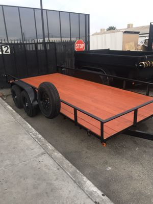 8.5x16x1 utility trailer brand new for Sale in Redlands, CA