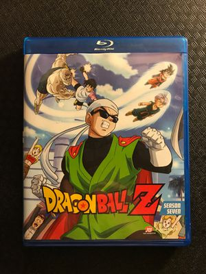 Blu-Ray disc DragonBall Dragon Ball Z animated season seven cartoon movie series for Sale in Ripon, CA