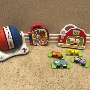 Leap Frog & Fisher Price Baby Toys for Sale in Humble, TX