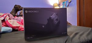 Xbox One X - Bl/1tb for Sale in Tacoma, WA