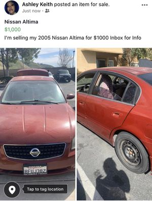 2005 Nissan Altima for Sale in San Bernardino, CA