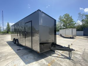 Enclosed Cargo Trailer Spartan 8.5x24 Tandem 5200 Lb Axles for Sale in Southwest Ranches, FL