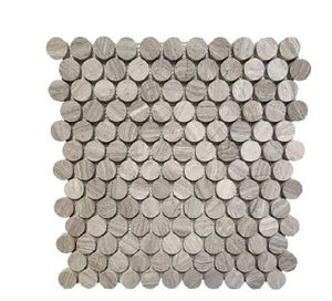 """1"""" x 1"""" Marble Penny round Mosaic Wall & Floor Tile for Sale in Anaheim, CA"""