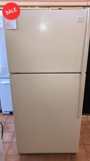 $39 TAKE HOME!CONTACT TODAY! Whirlpool Refrigerator Fridge Top Freezer #1481 for Sale in Severn, MD