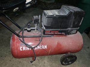 Craftsman Compressor 5hp 25g for Sale in San Antonio, TX