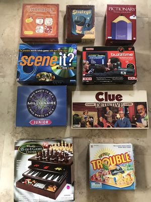 Classic Board Games for Sale in Sarasota, FL