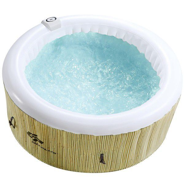 Brand new - massage jet Spa hot tub jacuzzi bubble bath poolside patio backyard