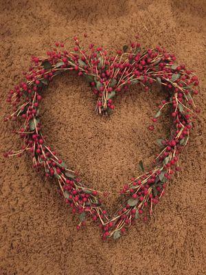 Heart Valentines Wreath 22x22 for Sale in Mesa, AZ