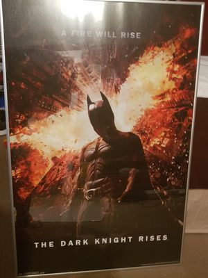 Batman framed poster for Sale in Oklahoma City, OK