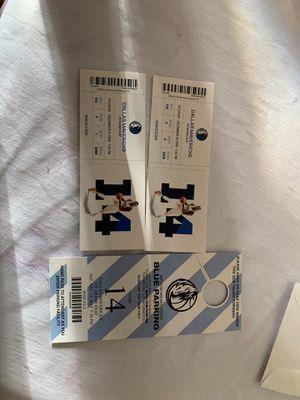 Mavericks tickets 12/14/19 for Sale in Dallas, TX