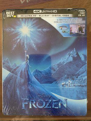 Disney Frozen Steelbook Brand New - 4K Ultra HD UHD Blu-ray Movie for Sale in Los Angeles, CA