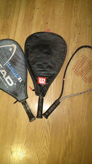Tennis rackets with cases for Sale in TEMPLE TERR, FL