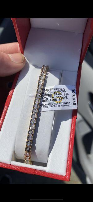 Diamond bracelet and earrings for Sale in Sacramento, CA