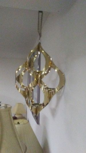 Hanging brass candle holder for Sale in Barnhart, MO