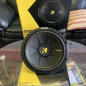 Kicker Car Audio . 12 Inch Car Stereo Subwoofer . New Year 5 Day Super Sale ! $69 Each While They Last New for Sale in Mesa, AZ