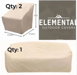 3 - ELEMENTAL Outdoor Furniture Covers for Sale in Whittier, CA