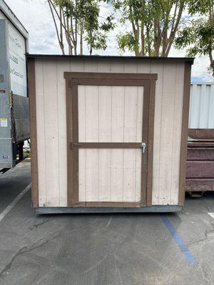 Storage shed assembled for Sale in Orange, CA