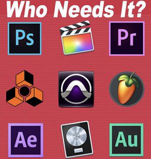 Adobe Premiere Pro , Final Cut , Pro Tools , Plugins for Sale in Houston, TX