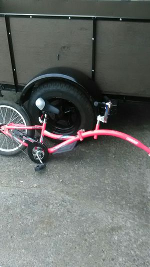 We ride copilot tag-along folding bike for Sale in Vancouver, WA