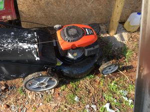 Poulan push mower Koehler engine and bagger for Sale in Thomasville, NC