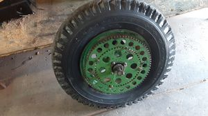 John deer farm tractor tire and rim for Sale in Fresno, CA