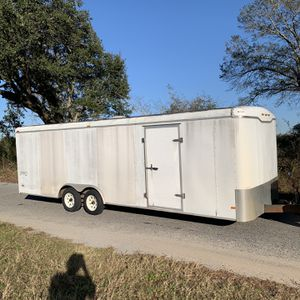 Haulmark 8.5x24 Foot Car Hauler Enclosed Trailer for Sale in Crestview, FL